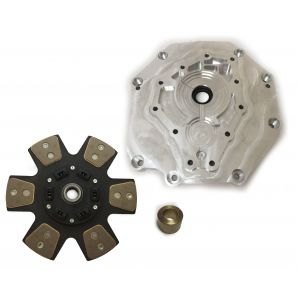 LSX Engine to 350Z 370Z VQ 6-Speed Transmission Adapter Plate With 11 Inch Clutch Disc