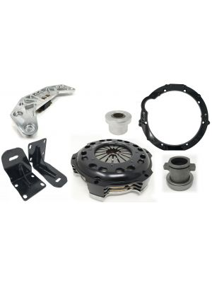 350Z / G35 Chassis to JZ Engine (CD009) Stage 5 (850ftlbs) Swap Kit with 350Z G35 Crossmember and Engine Mounts